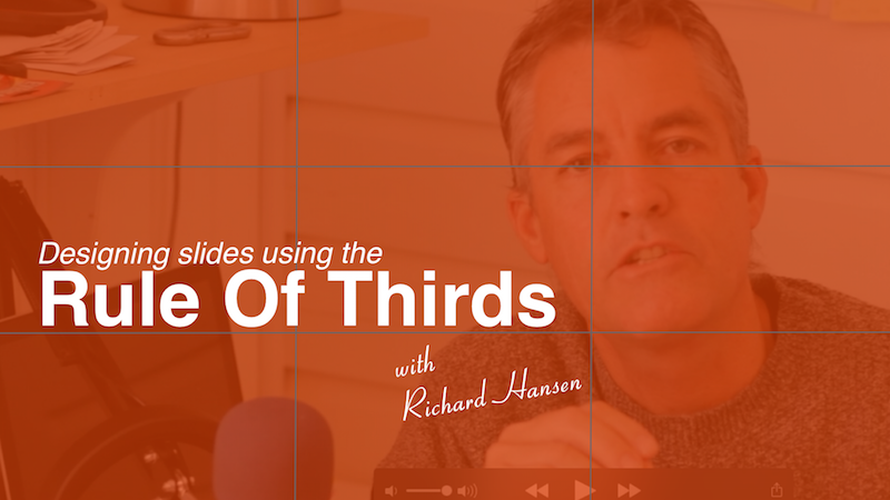 Slide Design Using The Rule Of Thirds